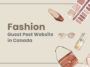 fashion guest post website in canada