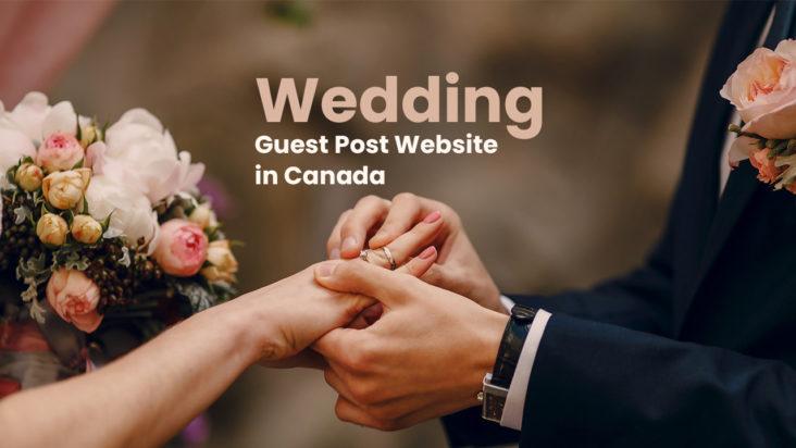 wedding guest post website in canada